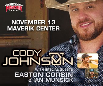 Cody Johnson Maverik Center 11-13