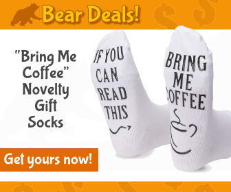 Novelty Socks_Bear Deals