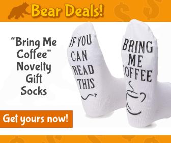 Novelty Socks_Bear Deals