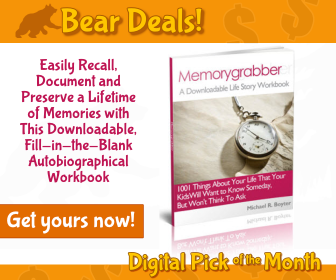 Memorygrabber Workbook Digital_Bear Deals