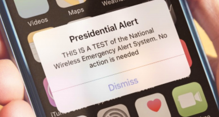 Wireless Emergency Alert System Testing Set For Oct 3