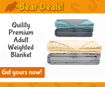 Quility Premium Adult Weighted Blanket_Bear Deals